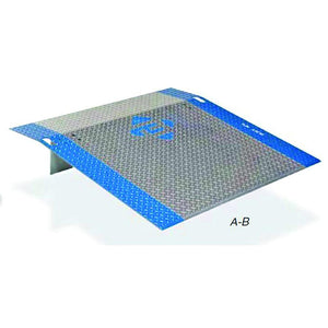 B4236 Aluminum Dock Plate Model B