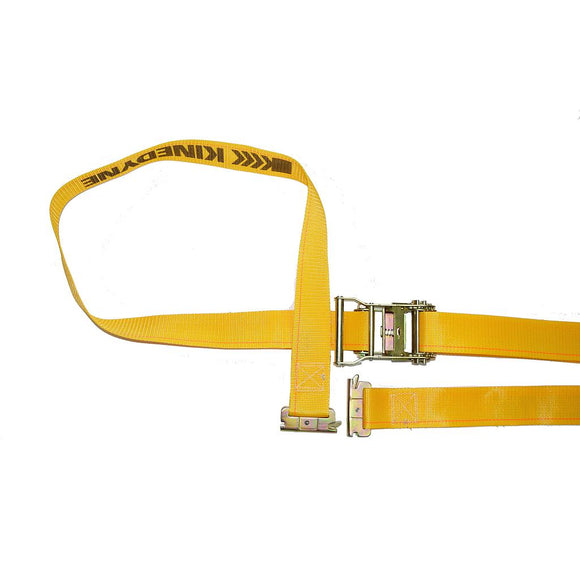 Logistic Strap with Ratchet Buckle Yellow 2