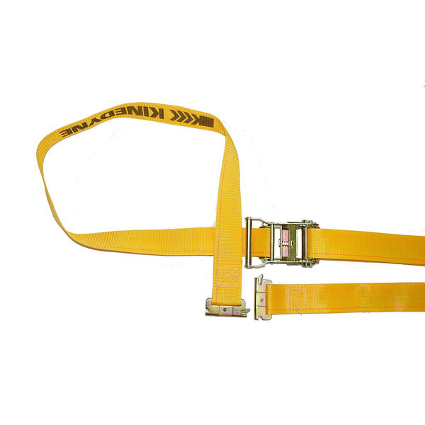 "Logistic Strap with Ratchet Buckle Yellow 2""x12"