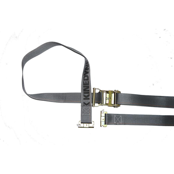 Logistic Strap with Ratchet Buckle Gray 2