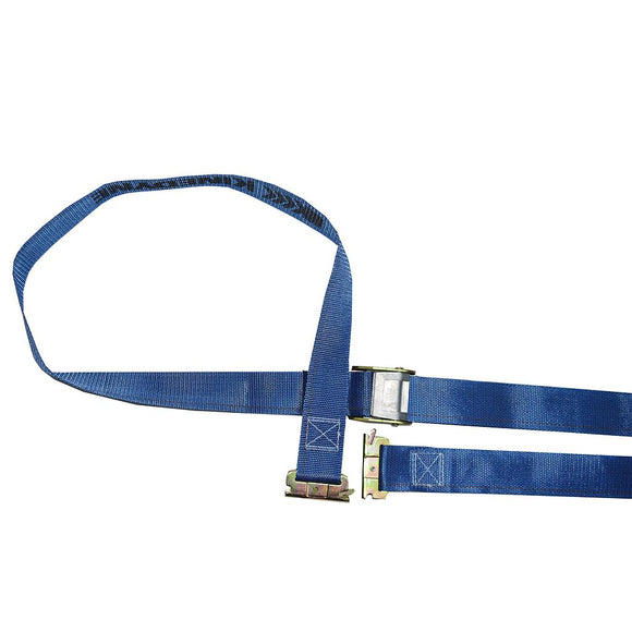 Logistic Strap with Ratchet Buckle Blue 2