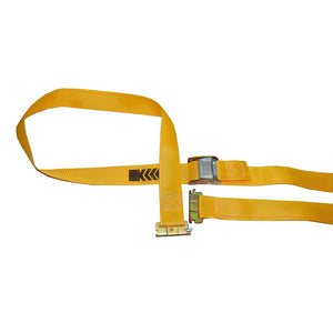 "Logistic Strap with Cam Buckle Yellow 2""x 12"""