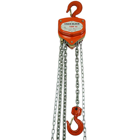 1.5 Ton Manual Hand Chain Block