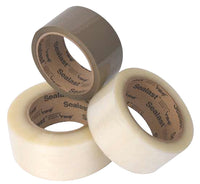 Shipping tape -sealast tape tan sealast tape clear