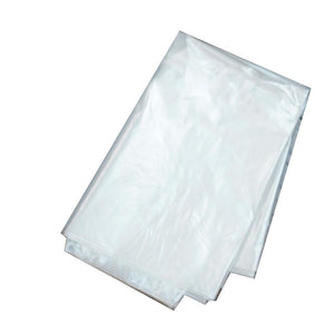 58 gallon clear plastic bag