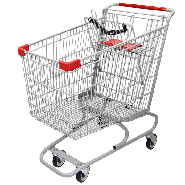 Metal Shopping Cart 183 Liters