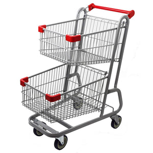 two tier shopping