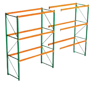 "Upright Frame F20 48"" x 144"" 3 x 2 1/2 Deep"