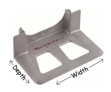 Aluminum Nose Plate AA