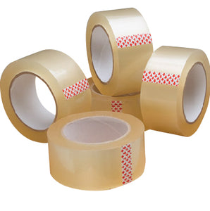 "Carton Sealing Tape Clear 3""x 55 yards"