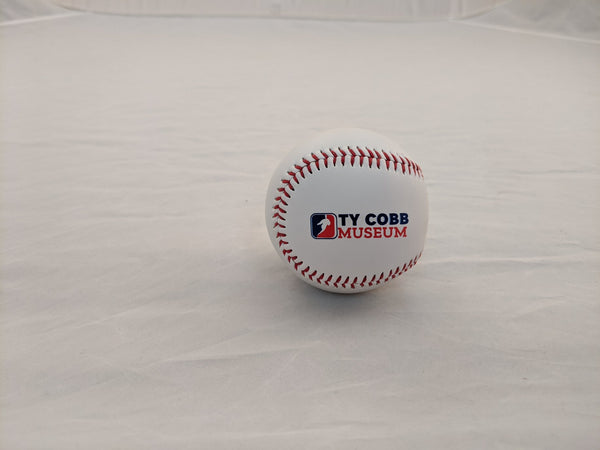 Ty Cobb Museum Leather Baseball