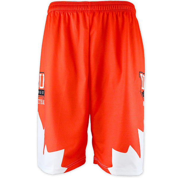 SUBLIMATED BASKETBALL SHORTS (MENS) - YOUR DESIGN