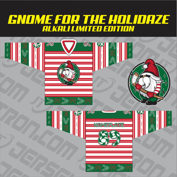 Sublimated Christmas Jerseys