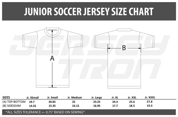 SUBLIMATED SOCCER JERSEY (MENS) - YOUR DESIGN