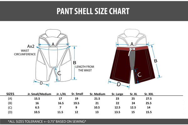 Sublimated Pro Model Pant Shells -  Your Design
