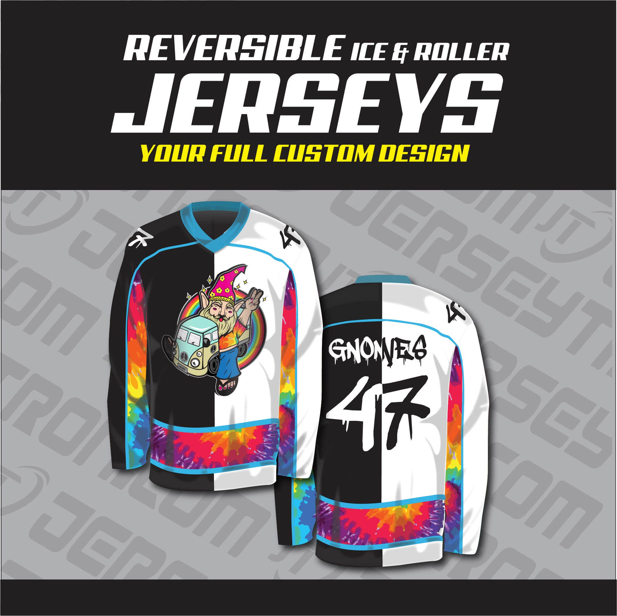 quality design 25b35 2757d Sublimated Reversible Hockey Jersey - Your Design (Model)