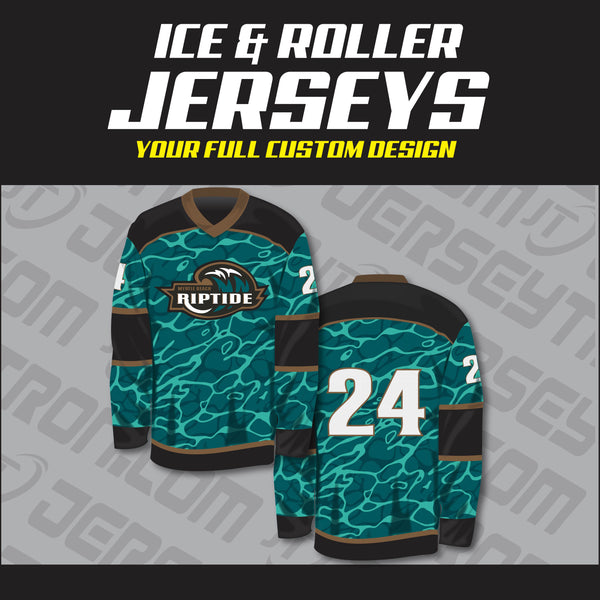 Sublimated Hockey Jersey -  Your Design (Model)