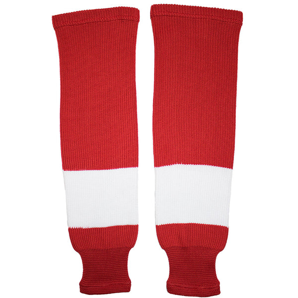 Detroit Red Wings Knit Hockey Socks (TronX SK200)