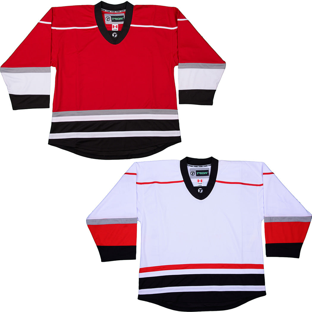 various colors a4700 bd30c Carolina Hurricanes Hockey Jersey - TronX DJ300 Replica Gamewear