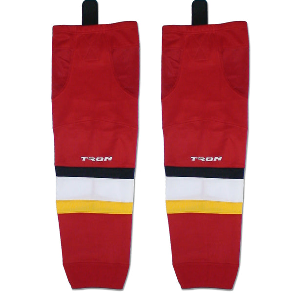 Calgary Flames Hockey Socks - TronX SK300 NHL Team Dry Fit