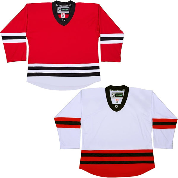 Chicago Blackhawks Hockey Jersey - TronX DJ300 Replica Gamewear