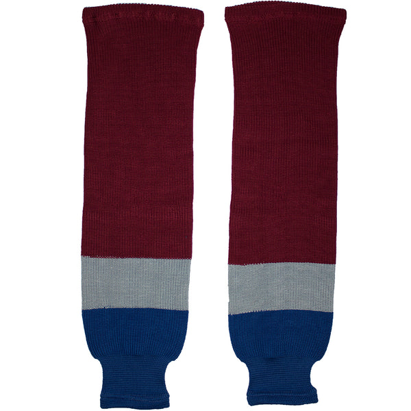 Colorado Avalanche Knit Hockey Socks (TronX SK200)