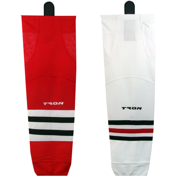 Chicago Blackhawks Hockey Socks - TronX SK300 NHL Team Dry Fit