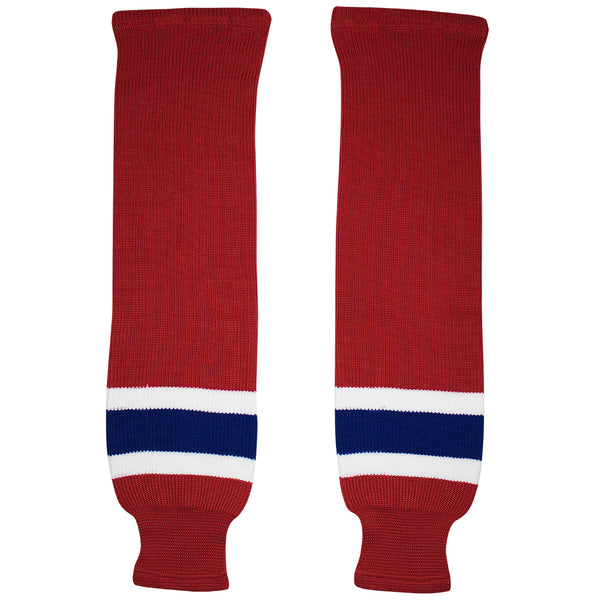 Montreal Canadiens Knit Hockey Socks (TronX SK200)