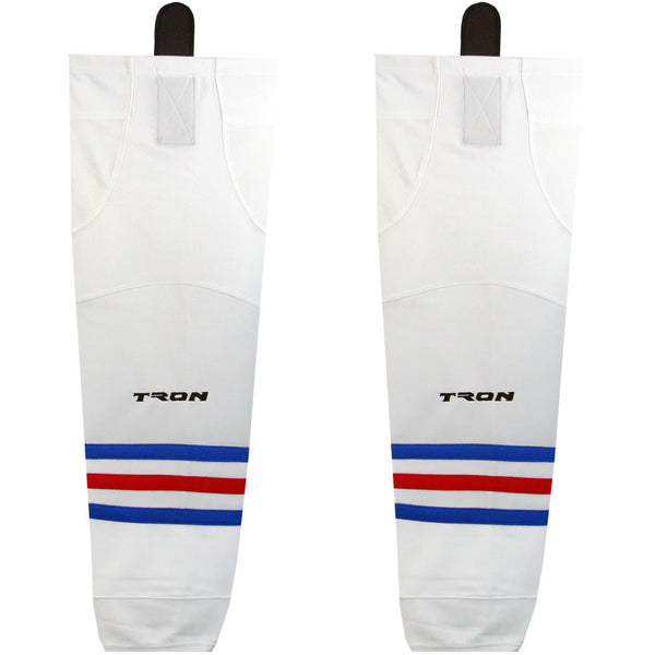 New York Rangers Dry Fit Hockey Socks - TronX SK300 NHL Team