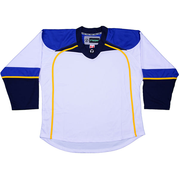 St. Lous Blues Hockey Jersey - TronX DJ300 Replica Gamewear