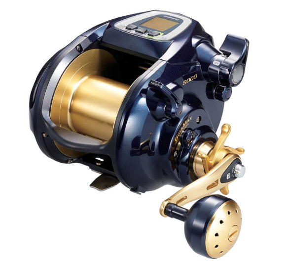 Shimano beastmaster 9000 electric convention reel  Edit alt text