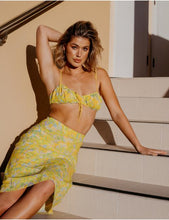 Load image into Gallery viewer, Bora Bora Crop Top in Yellow