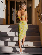 Load image into Gallery viewer, Bora Bora Midi Skirt in Yellow