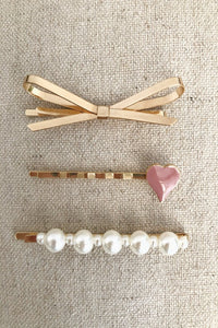 Buttercup Hair Pins 3 Pack Set