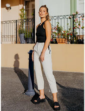 Load image into Gallery viewer, Cassandra Denim Pants in White