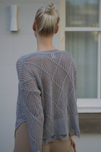 Elise Jumper in Grey