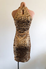 Load image into Gallery viewer, Girls Night Out Dress in Gold