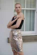 Load image into Gallery viewer, Glamorous Skirt in Gold