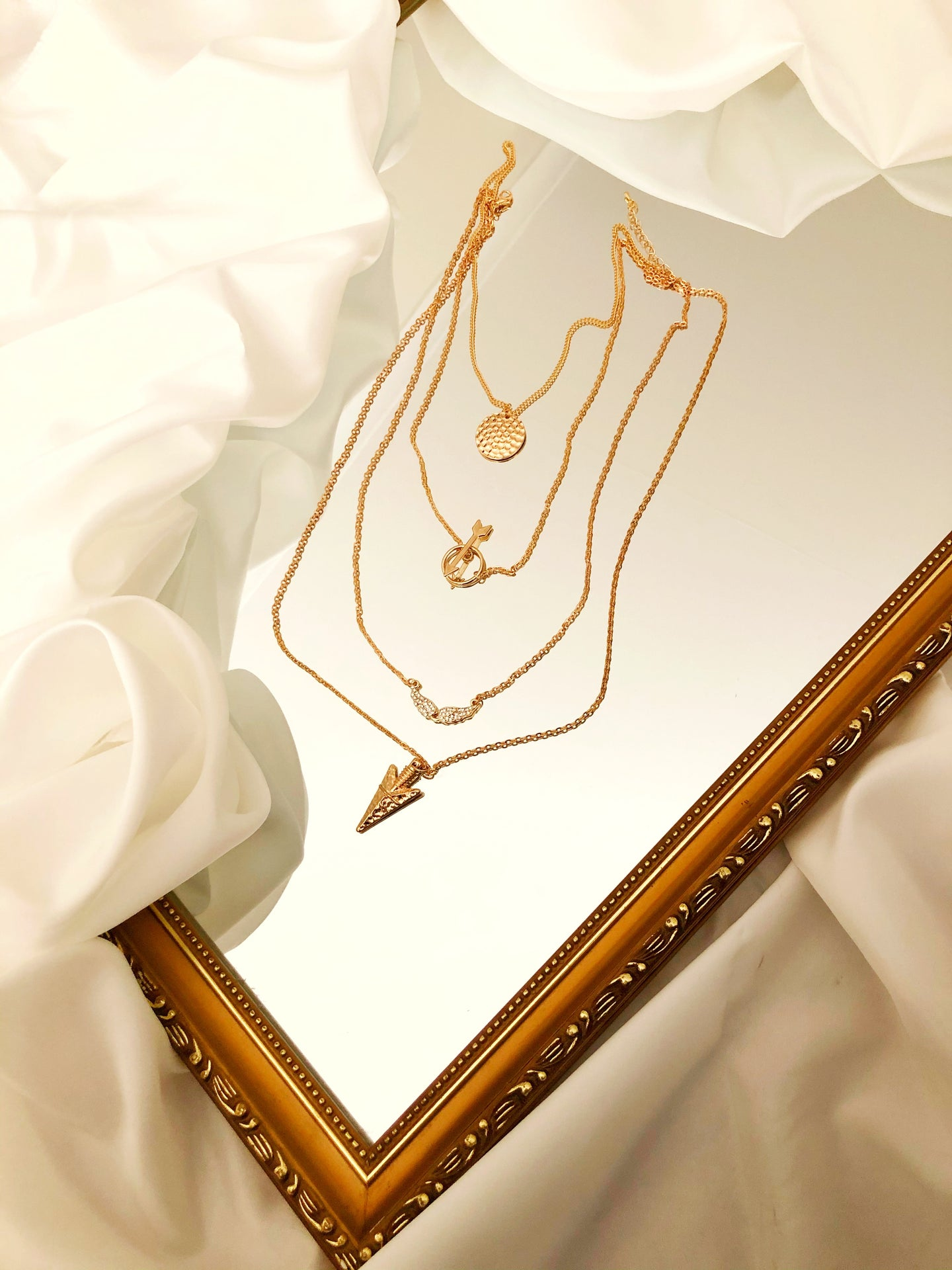 Addison Necklace in Gold