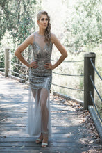Load image into Gallery viewer, Love Me Dress in Silver