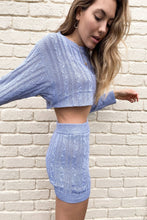 Load image into Gallery viewer, Tiffany Cable Knit Two Piece Set