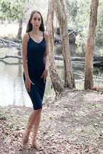 Load image into Gallery viewer, Willow Dress in Navy Blue