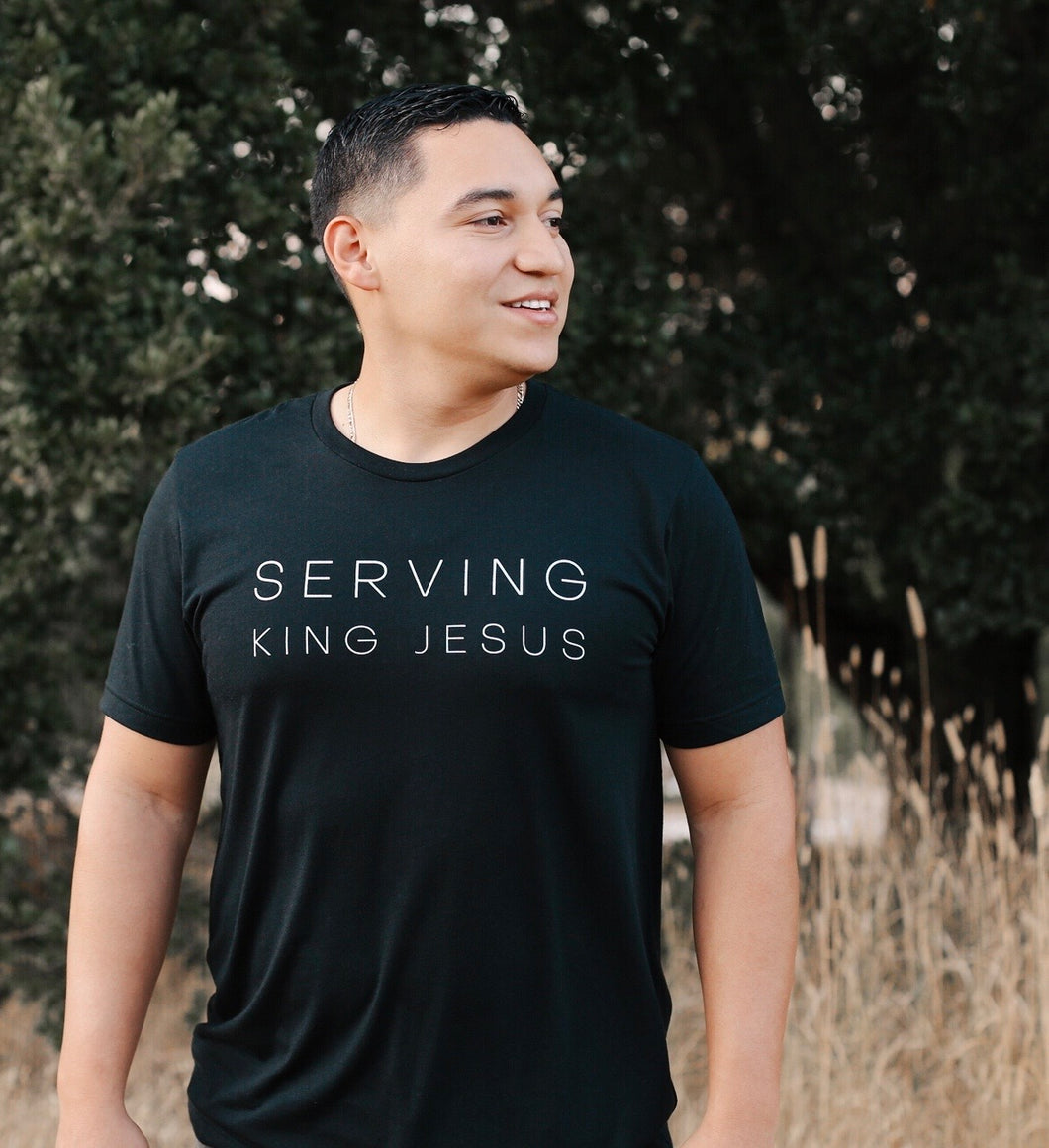 Serving King Jesus Unisex Tee