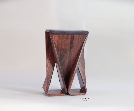 Solid Walnut Loop Table #15