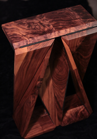 Solid Walnut Loop Table #3