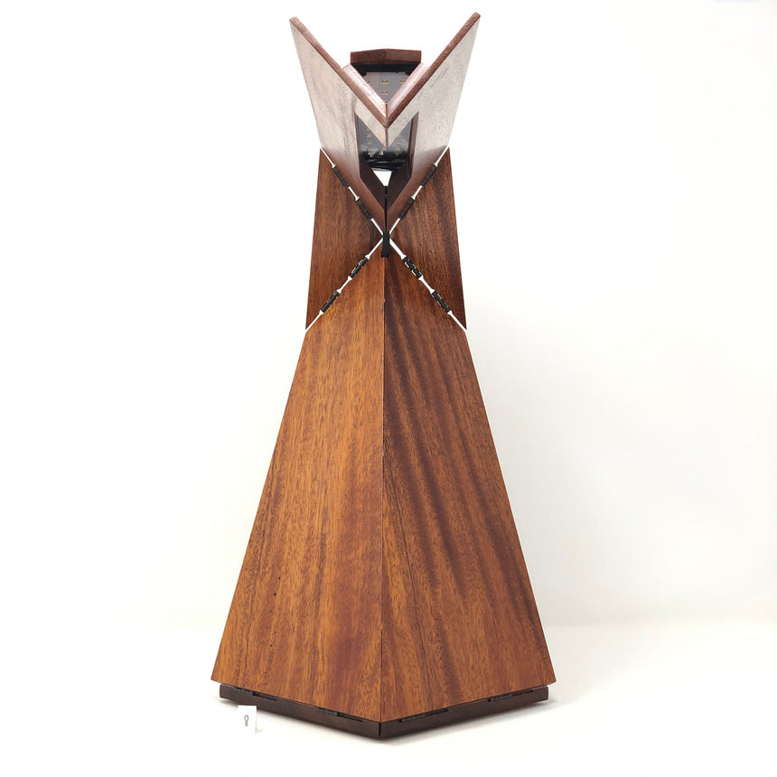 Solid Mahogany Kinetic Desk Lamp #8