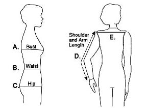 upper body measurement