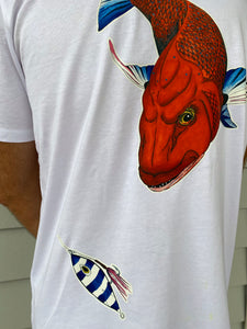 Coloured Snapper Tee