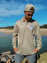 Load image into Gallery viewer, Logo Fishing Shirt - Seaweed