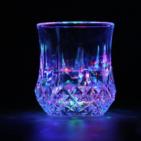 LED Flashing Glowing Water Liquid